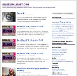 Screenshot Bisexualitaet.org